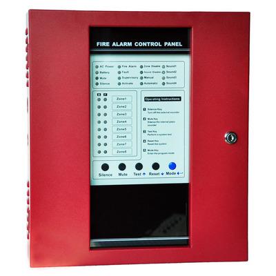 传统火灾报警系统 ck1000 多线报警主机 4区火警控制面板 FACP