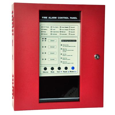 传统FACP 火灾报警系统 多线报警主机 4/8/16Zone火警控制面板